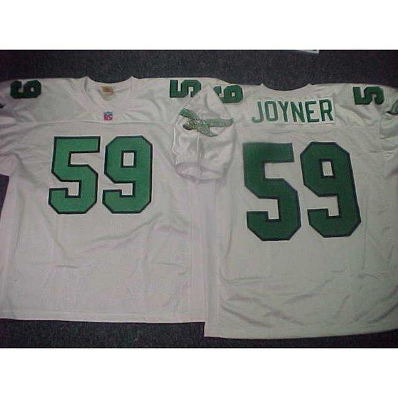 Philadelphia Eagles Seth Joyner White Jersey
